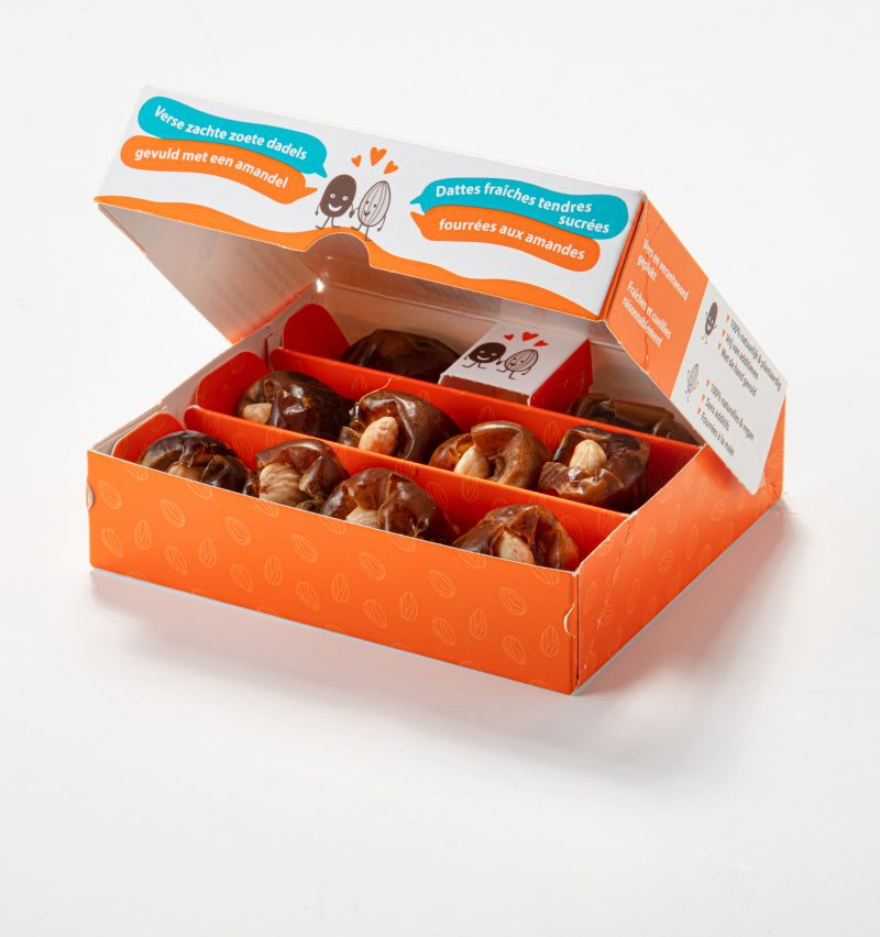 Dates filled with almond